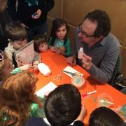 Esteban is invited to The Science Day at The Princeton Public Library